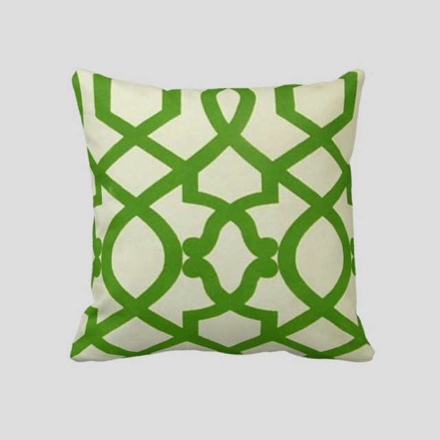 Lattice (Green) Pillow