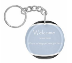 Welcome_KeyChain